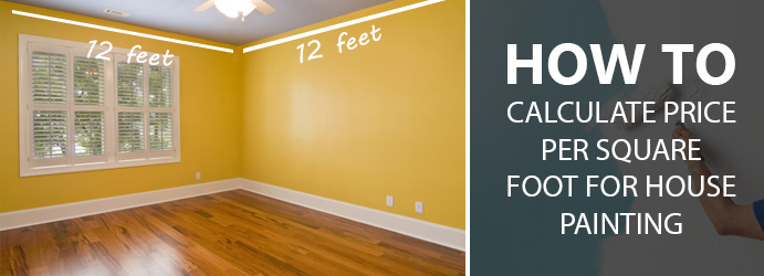 How To Calculate Price Per Square Foot For House Painting - How to calculate price per square foot for flooring